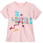 Disney Girls Shirt - Forky - I'm Homemade - Toy Story 4