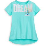 Disney Girls Shirt - Cinderella's Castle - Walt Disney World - DREAM