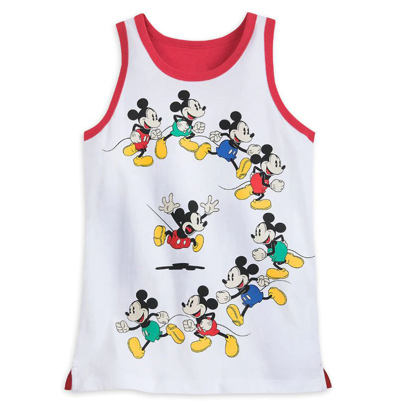 Disney Boys Shirt - Mickey Mouse - Colorful Poses- Tank