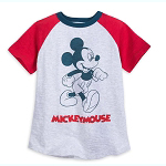 Disney Boys Shirt - Mickey Mouse - Raglan T-Shirt