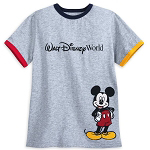 Disney Boys Shirt - Mickey Mouse Fab 4 - Walt Disney World - Ringer Tee