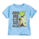 Disney Toddler Shirt - Yoda - Judge Me By My Size Do You?