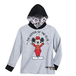 Disney Boys Shirt - Mickey Mouse Club - Long Sleeve Hoodie