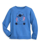 Disney Girls Sweatshirt - Stitch Sequin Ears