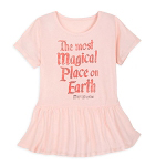 Disney Girls Shirt - The Most Magical Place on Earth - Magic Kingdom