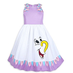 Disney Dress Shop Dress for Girls - Mrs Potts & Chip