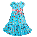 Disney Dress Shop Dress for Girls - Disney Parks Food Icons