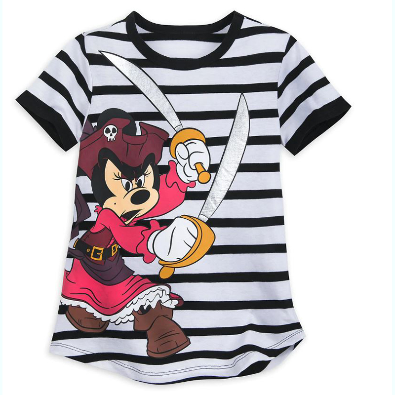 Disney Girls Shirt - Pirates of the Caribbean - Minnie  Mouse