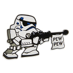 Disney Pin - Star Wars Stormtrooper - Pew Pew