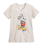 Disney Women's Shirt - Mickey Mouse - Walt Disney World - Oatmeal