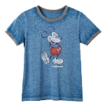 Disney Women's Ringer Shirt - Mickey Mouse - Walt Disney World