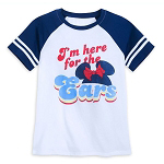 Disney Women's Shirt - I'm Here For The Ears - Minnie Mouse