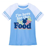 Disney Women's Shirt - I'm Here For The Food