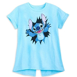 Disney Women's Shirt - Stitch Aloha
