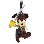 Disney Ornament - Mickey Mouse - Pirates of the Caribbean