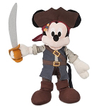 Disney Plush - Mickey Mouse Pirates of the Caribbean - 12''