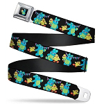 Disney Designer Seatbelt Belt - Ducky & Bunny - Toy Story 4