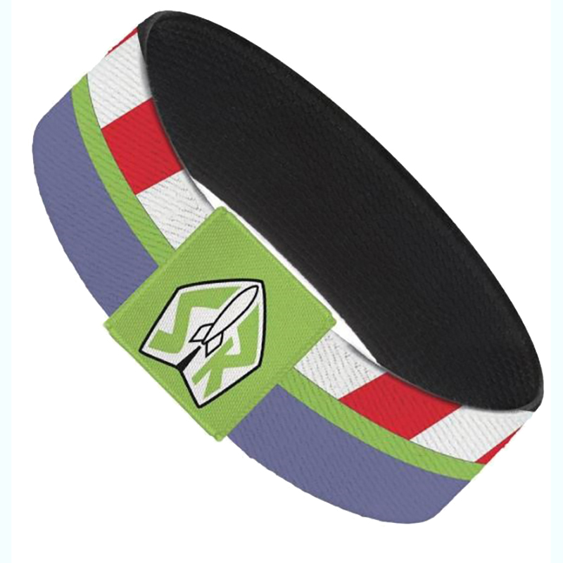 Disney Designer Elastic Bracelet -  Buzz Lightyear Space Ranger Stripes - Toy Story 4