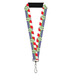Disney Designer Lanyard - Buzz Lightyear Space Ranger Logo - Toy Story 4