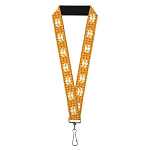 Disney Designer Lanyard - Woody Plaid Shirt Print - Cowboy Bull Icon