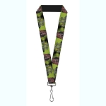Disney Designer Lanyard - Scar w/ Hyenas - Lion King Villains