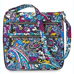 Disney Vera Bradley Bag - Mickey & Minnie Paisley Celebration - Hipster