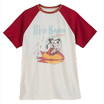 Disney Men's Shirt - Goofy Tomorrowland - Vintage Look Raglan Tee