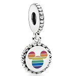 Disney PANDORA Charm - Mickey Mouse Rainbow