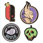 Disney Iron On Patch Set - PatcheD - Disney Villains