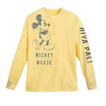 Disney Adult Shirt - Mickey Mouse - Hiya Pal! - Long Sleeve