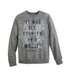 Disney Adult Sweatshirt - Walt Disney Quote - It Was All Started By A Mouse