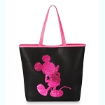Disney Tote Bag - Mickey Mouse - Reversible Sequin - Imagination Pink