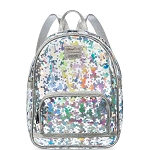 Disney Parks Loungefly Mini Backpack Bag - Mickey Mouse - Magic Mirror Metallic