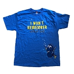 Disney Adult Shirt - Dory - I Won't Remember Any of This