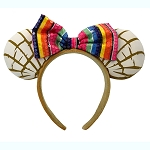 Disney Minnie Ears Headband - Mexican Conchas Sweet Bread