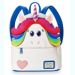 Disney Mini Loungefly Backpack - Rainbow Unicorn - Inside Out