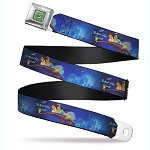 Disney Designer Seatbelt Belt - Jasmine - A Whole New World - Disney Princess