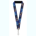 Disney Designer Lanyard - Aladdin Live Action 2019 A Whole New World Scene