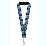 Disney Designer Lanyard - Genie Magic Lamp - Aladdin Live Action 2019