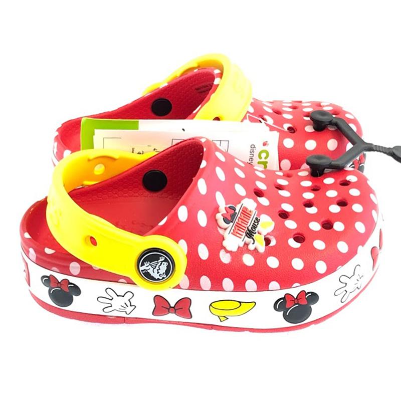 Disney Kids Crocs Shoes - Minnie Mouse