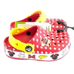 Disney Kids Crocs Shoes - Minnie Mouse - Theme Park - Light Up