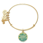 Disney Alex and Ani Bracelet - Lion King - Hakuna Matata - Gold