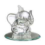 Disney Arribas Glass Figurine - Dumbo