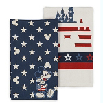 Disney Kitchen Towel Set - Americana Collection - Mickey Mouse