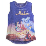 Disney Women's Shirt - Aladdin VHS Cover - Tank Top