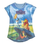 Disney Women's Shirt - The Lion King VHS Cover - T-Shirt