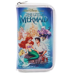 Disney Bag - The Little Mermaid VHS Case - Clutch