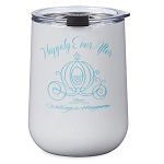 Disney Glass with Lid - Happily Ever After - Disney's Fairytale Weddings & Honeymoons