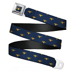 Disney Designer Seatbelt Belt - Aladdin Magic Lamp