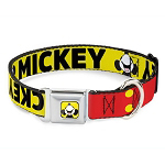 Disney Designer Pet Collar - Mickey Mouse Smiling Looking Up